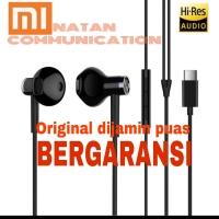 HEADSET EARPHONE XIAOMI TYPE C MI6 MI8 MI9 tipe C HIRES AUDIO ORIGINAL