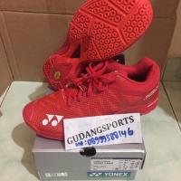 Sepatu Badminton Yonex Aerus 3 Red Original