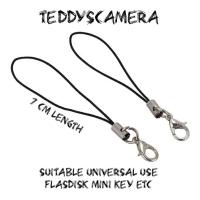 Gantungan Tali Handphone Hp Strap String Keychain Kamera FlashDisk DLL