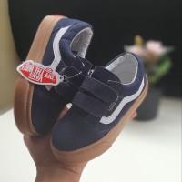 Sepatu anak vans kids sol gum casual laki perempuan