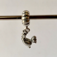 Pandora chinese zodiac rooster silver charm S925 ALE ori toko