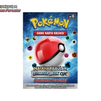Pokemon Game Kartu Koleksi Matahari & Bulan Starter Deck GX 60 kartu