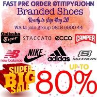 Sale Branded Shoes Sepatu Onitsuka Staccato Nike Adidas New Balance