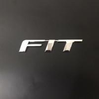 Emblem FIT untuk bagasi Honda Jazz GK tahun 14 15 16 17 18 19