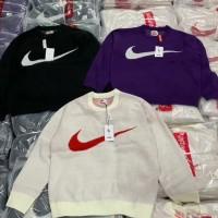 Supreme x Nike Swoosh Sweater