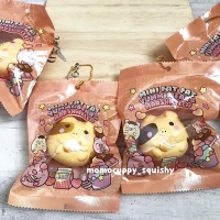PROMO SQUISHY LICENSED KARAKTER mini fat fat roasted marshmelli (ORI)