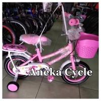 Sepeda Anak Perempuan Mini Evergreen 12 Sepeda Cewek Roda Empat