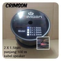 Kabel speaker crimson 2x1.5 100m