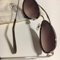Preloved kacamata Sunglass Fossil Brown Authentic Original