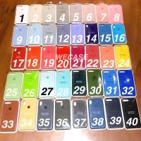 Silicone case original Apple iphone 6 6+ 7 7+ 8 8+ X FLASH YELLOW
