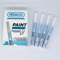 Spidol Paint White Marker PEPACO White Permanen