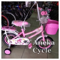 Sepeda Anak Perempuan Cewek Mini Evergreen 12.