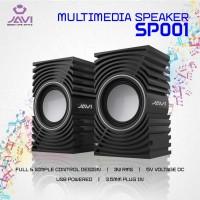 Speaker meja / laptop JAVI sp001 USB 2.0 3.5 plug audio in,output 3rms