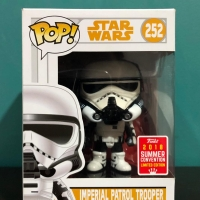 FUNKO POP ! STARWARS 252 IMPERIAL PATROL TROOPER LIMITED EDITION TOYS