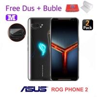 2 Pcs MAXFEEL Soft Tempered Glass Camera Kamera Asus Rog Phone 2