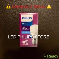 Lampu Bohlam LED Philips 4 Watt Putih/Cool Daylight (4W 4 W 4Watt)