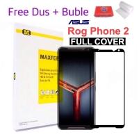 MAXFEEL Tempered Glass Asus Rog Phone 2 Full Cover Full Glue Premium