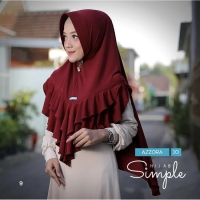 Khimar hijab bergo jilbab instan syar'i instan