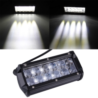 Lampu Tembak Led Lensa 4D 12 Mata Lampu Kabut 4D Lampu Offroad 4D R161