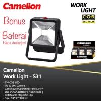 Work Ligh Lampu sorot lampu emergency darurat senter lampu Led baterai