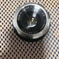 rare lensa manual Pancake fix mamiya sekor T 48mm f2.8 for canon EOS