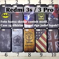 Man hard case xiaomi redmi 3s 3 pro avengers marvel superhero