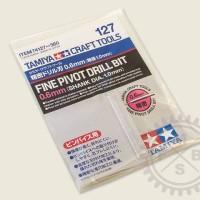 TAMIYA CRAFT TOOLS - Fine Pivot Drill Bit 0.6mm (shank dia 1mm) 74127
