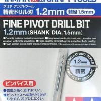 TAMIYA CRAFT TOOLS - Fine Pivot Drill Bit 1.2mm (shank dia 1.5mm)74141