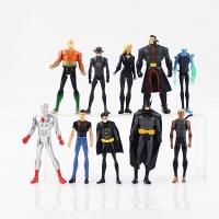 Action Figure DC Comic Superman Batman Robin Silver