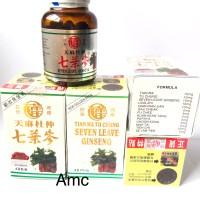 Tian ma seven leave ginseng stiker