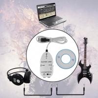 Promo nterface Gitar Guitar to USB Sound card Link audio Cable