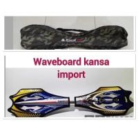 Waveboard / Snakeboard / Ripstick / skateboard Roket / Swayboard Kansa