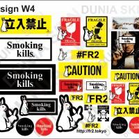 Sticker Koper Rimowa / Travel Label Design W4 FR2 - Fucking Rabbit