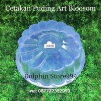 Cetakan Puding Art Blossom/Cetakan Agar/Cetakan Kue Bolu Kukus