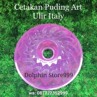 Cetakan Puding Art Ulir Italy/Cetakan Jelly/Cetakan Bolu Kukus