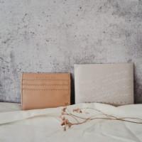 Leather Card Holder/ Wedding Souvenir/ Gift/ Dompet Kartu Kulit