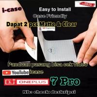 Anti Gores / Screen Protector Oneplus 7 Pro Case Friendly Dapat 2pcs