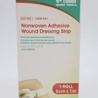 Winner Plester Luka Nonwaven Adhesive wound uk. 5cm x 1m