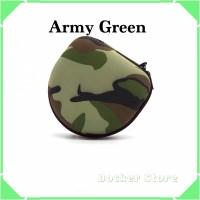 Case Box Headphone For Marshall Audio Technica Universal - Army Green