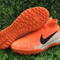 Futsal Nike Mercurial Superfly VI Elite TF - white hyper crimson