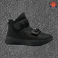 Sepatu Basket Sneakers Nike Lebron Soldier 13 Allblack Pria Wanita