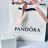 Pandora box charm and paper bag ori asli toko