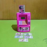 Mainan atm bank mainan celengan box pink fanta VENTURO TOYS