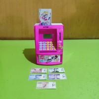 Mainan atm bank mainan box celengan pink fanta VENTURO TOYS