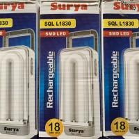 Harga promo lampu petromax/emergency surya SQL L1830 cahaya putih
