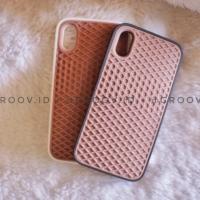 Promo - Casing case unik vans waffle iPhone X Xs