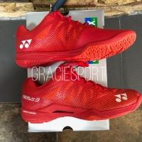 Sepatu Badminton Yonex Aerus 3 Red