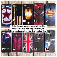 Softcase Case superheroe marvel avengers Xiaomi Redmi Note 5 iron man