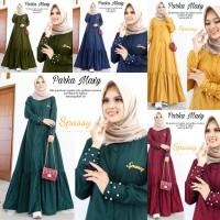 RESTOCK! Parka Maxy Dress Muslim Fit to XXL