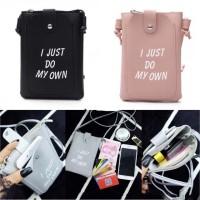 I JUST DO MY OWN mini Sling bag Pocket Phone Tas Selempang Fashion